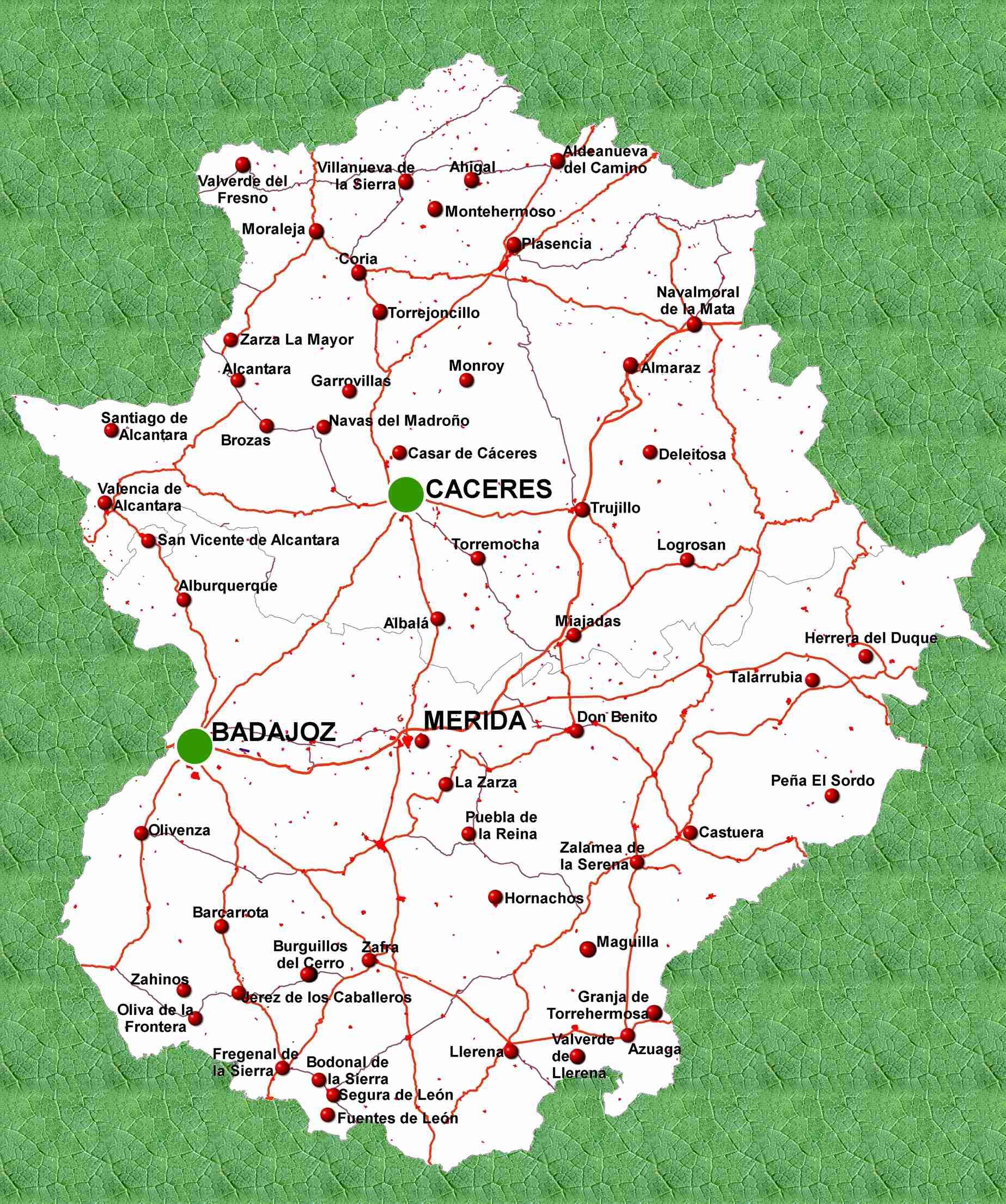 ¿Cómo llegar a Cáceres y no perderse?